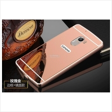 Ready Stock Lenovo Vibe X3 Lite K4 Note Mirror Metal Case Cover Casing