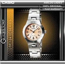 CASIO LTP-1241D-4A3 LADIES WATCH ☑ORIGINAL☑