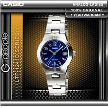 CASIO LTP-1241D-2A2 LADIES WATCH ☑ORIGINAL☑