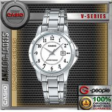 CASIO LTP-V004D-7B LADIES WITH DATE WATCH ☑ORIGINAL☑
