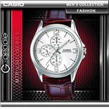 CASIO MTP-V301L-7A GENTS MULTI-HAND WATCH ☑ORIGINAL☑