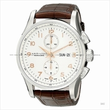 HAMILTON H32766513 Men's Jazzmaster Maestro Auto Chrono leather brown