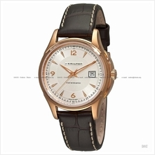 HAMILTON H32645555 Men's Jazzmaster Viewmatic Auto date leather brown