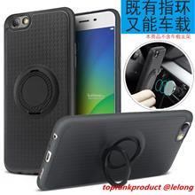 OPPO F3 A77 Magnetic Ring Stand Back Armor Case Cover Casing