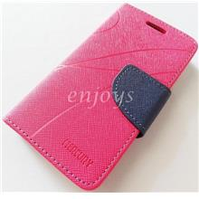 MERCURY Fancy Diary Book Case Cover Sony Xperia M C1905 ~Hotpink *XPD