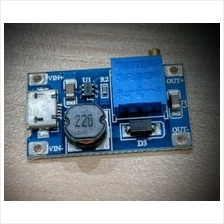 Adjustable dc to dc step up micro usb, 2v-24V to 5v-28V, Max crt 2A