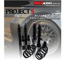 PROJECT-S Hi-Low Soft Hard Adjustable Absorber: TOYOTA CAMRY SV3 02+