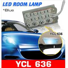 YCL-636 12 LED Diamond Blue Super Bright Universal Room Lamp [Blue]