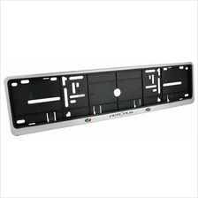 Universal Long Number Plate Cover Holder for Car with Logo and Word