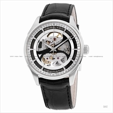 HAMILTON H42555751 Men's Jazzmaster Viewmatic Skeleton Auto leather