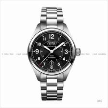 HAMILTON H70505133 Men's Khaki Field Day Date Auto bracelet black
