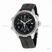 HAMILTON H77912335 Men's Khaki Aviation X-Wind Chrono Quartz GMT