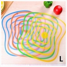 Creative Scrub Plastic Chopping Board-4 pcs (L)