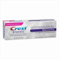 Crest 3D White Brilliance Fluoride Teeth Whitening Toothpaste, 4.1oz )