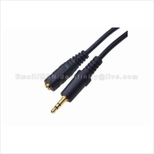 3.5mm Male to Female Stereo Auxiliary Extension Audio Cable 1.5M New
