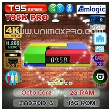 T95K PRO S912 Octa Core Android 6 2GB RAM 16GB ROM TV Box IPTV