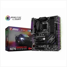 # MSI H270 GAMING PRO CARBON ATX Motherboard # LGA 1151