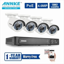 ANNKE 2MP 1080P 4 Bullet Cameras NO HDD Included CCTV NVR