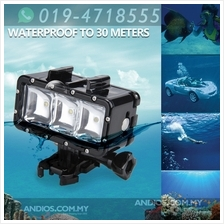 30M Waterproof Underwater Diving LED Video Light for GoPro hero 1/2/3/
