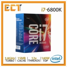 Intel Core i7-6800K Desktop Processor (3.80Ghz, 15MB SmartCache, 12 Th