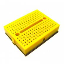Yellow Mini Solderless Prototype Breadboard 170 Tie