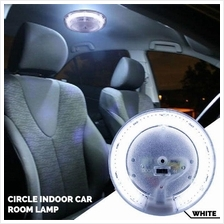(Limited Stock) Universal LED Circle Tube Car Room Lamp Light (White)
