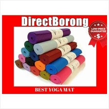 6mm Non Slip yoga Mat Aerobic Fitness Towel Ball exercise