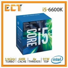 Intel Core i5-6600K Desktop Processor (3.90Ghz, 6MB SmartCache, 4 Thre