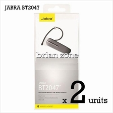 2 Units Jabra BT2047 Wireless Bluetooth Headset (2 Years Warranty)