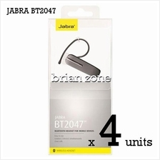 4 Units Jabra BT2047 Wireless Bluetooth Headset (2 Years Warranty)