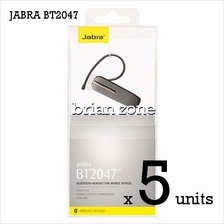 5 Units Jabra BT2047 Wireless Bluetooth Headset (2 Years Warranty)