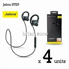 4 Units Jabra STEP Wireless Headset with Bluetooth stereo (2 Years War