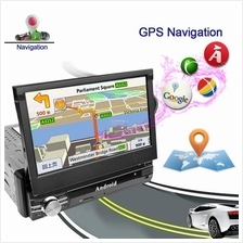 1 Din Android 6.0 Car Radio Stereo 7'1024*600 Universal Car Player GPS
