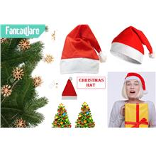 Merry Christmas Hats Santa Claus Costume Xmas Party Hat Adult Unisex