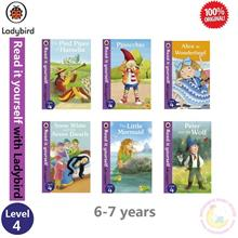 Ladybird Read it Yourself Level 4 (6 Books) - Hard Cover