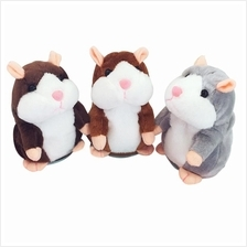 Cute Talking Hamster Plush Toy with Talk Back Voice Recorder Kids Gift