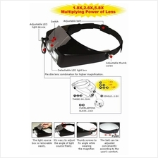 Pro'sKit Headband Power Magnifier with L.E.D worh RM149 : ProsKit