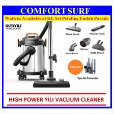 Yili bagless 1000w 3in1 Stainless Steel Dry Wet Blower Vacuum Cleaner