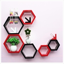 Fashion Home Hexagon Wall Decoration Lattice