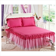 Princess Lace Bedspread With 2 Pillow Cover