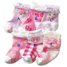 Japan NISSEN Princess Baby Girl Socks)