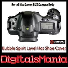2 in 1 Octopus Bubble Spirit Level Hot Shoe Cover - Canon 650D 700D