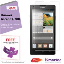 [Wholesale] Huawei Ascend G700 Tempered Glass Protector 0.26mm + 9H Ha..