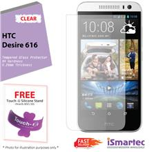 [Wholesale] HTC Desire 616 Tempered Glass Protector 0.26mm + 9H Hardne..