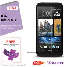 [Wholesale] HTC Desire 610 Tempered Glass Protector 0.26mm + 9H Hardne..