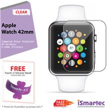 [Wholesale] Apple Smart Watch 42mm Tempered Glass Protector 0.26mm + 9..