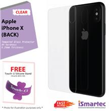 [Wholesale] Apple iPhone X (Back) Tempered Glass Protector