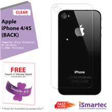 [Wholesale] Apple iPhone 4 (Back) / iPhone 4s (Back) Tempered Glass Pr..
