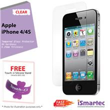 [Wholesale] Apple iPhone 4 / iPhone 4s Tempered Glass Protector 0.26mm..