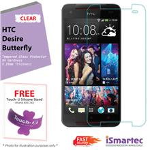 [Wholesale] HTC Desire Butterfly Tempered Glass Protector 0.26mm + 9H ..